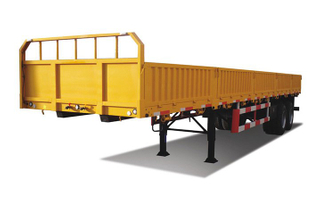 CLW Brand 50 tons cargo semi trailer for logistics