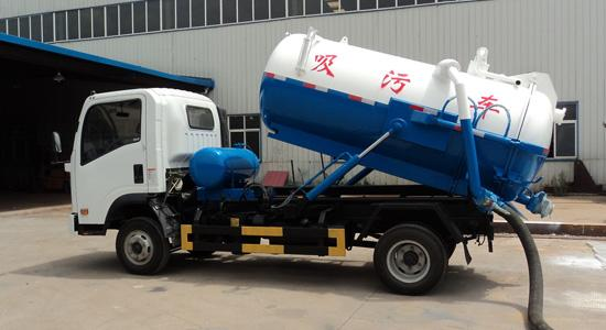 What is the sewage suction truck ? How is it produced by factory