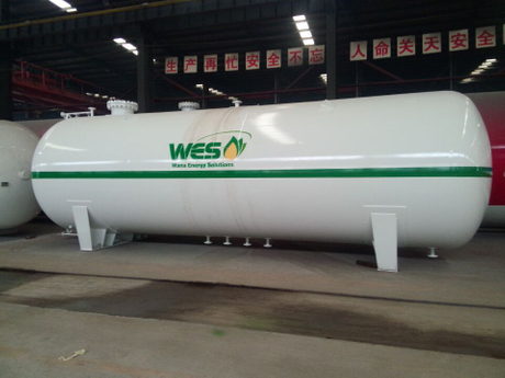 Q345R 14mm 25MT 25Tons 50000Liters 50CBM LPG Storage Tank