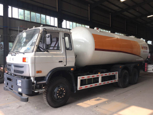 20000Liters Propane Delivery Road Truck Lpg Gas Tanker Truck