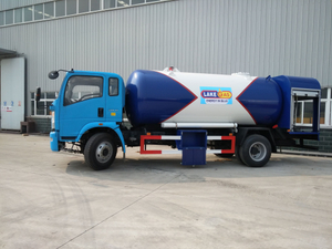 Dongfeng 4x2 10 Cubic Meters Lpg Cylinder Delivery Tank Truck
