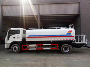 Foton New 5000liters Water Tank Truck for Sale