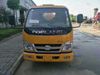 Foton 4x2 3m3 Small Fecal Suction Cleaning Tank Truck