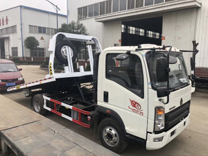 Sinitruk HOWO LIght Duty 4tons Wrecker Towing Truck for Sale