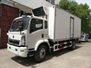 New Condition SINOTRUK HOWO 15ton Refrigerator Truck